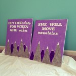 DIY Canvas Art for the Nursery